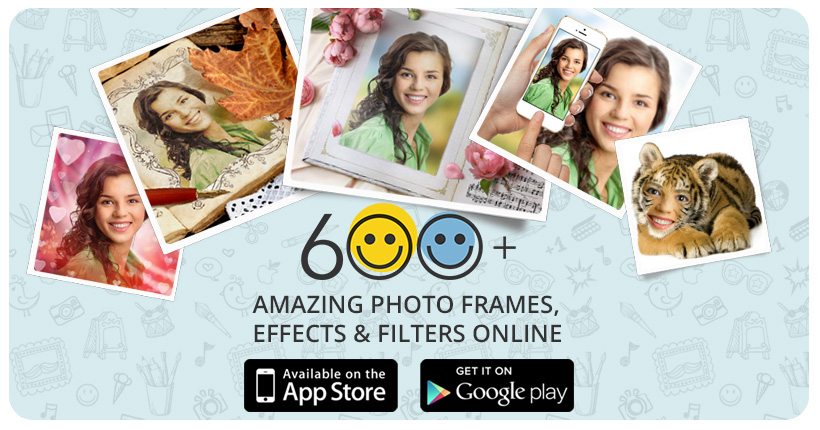 подставить фото в рамки фотошопа